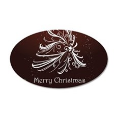 Christmas Tree And Wishes Wall Sticker