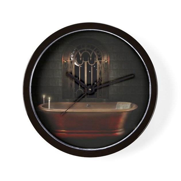 gothic bathtub wall clock by admin cp64763095