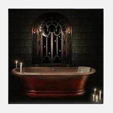 Gothic Bathtub Tile Coaster