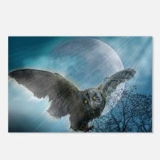 Gothic Owl Postcards (Package of 8)
