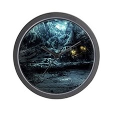 Gothic Landscape Wall Clock
