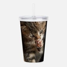 TALK TO THE PAW Acrylic Double-wall Tumbler