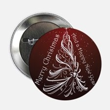 "Christmas Tree And Wishes 2.25"" Button (10 pack)"