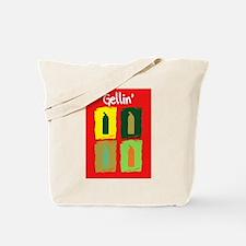 Gellin' Orange Back Tote Bag