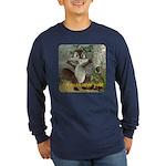 Nickie - Long Sleeve Dark T-Shirt