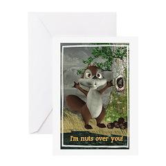 Nickie - Greeting Card 5x7 Single Card