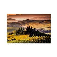 Tuscany, Italy landscape photogra Rectangle Magnet