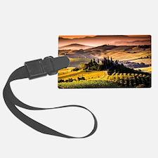 Tuscany, Italy landscape photogr Luggage Tag