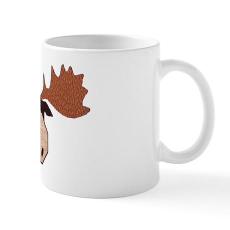 Moose Head Mug