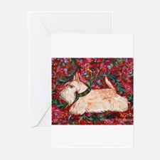 Unique Scottish terrier christmas Greeting Cards (Pk of 10)