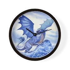 Ice Dragon Wall Clock