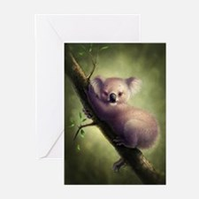 Cute Koala Bear Greeting Cards (Pk of 20)