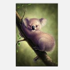 Cute Koala Bear Postcards (Package of 8)