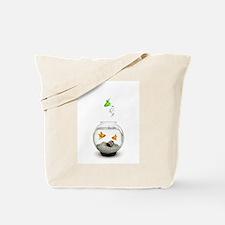 Gold Fish Outsider Tote Bag
