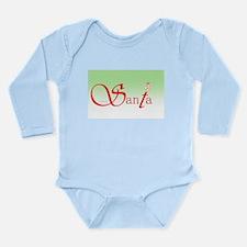 Santa Wisdom Long Sleeve Infant Body Suit