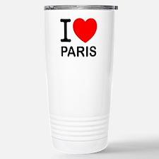 I Love Paris Travel Mug