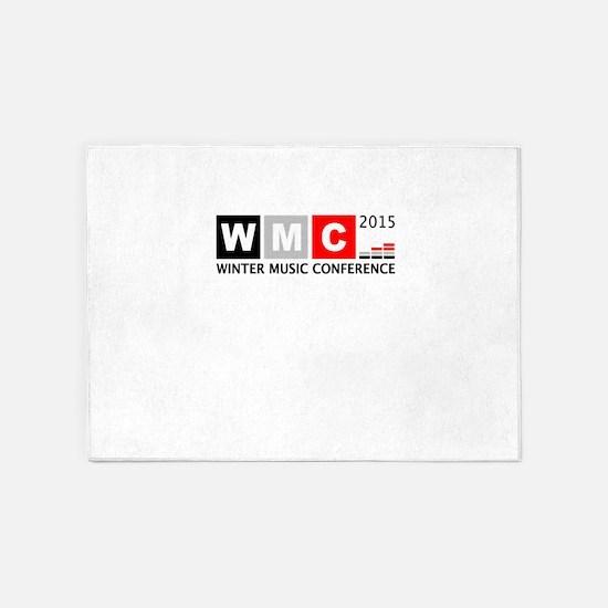 WMC 2015 Winter Music Conference 5'x7'Area Rug