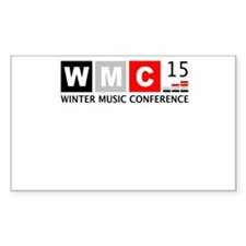 WMC 2015 Winter Music Conference Decal