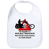 Grandpa biker Cotton Bibs