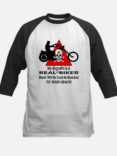 My GrandPa Is A Biker Baseball Jersey