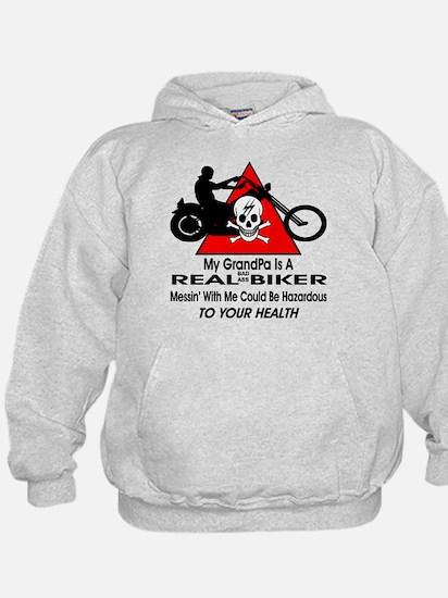 My GrandPa Is A Biker Hoodie