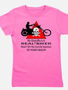My GrandPa Is A Biker Girl's Tee