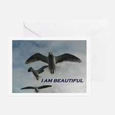 I Am Beautiful Greeting Cards