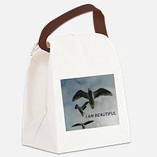 I Am Beautiful Canvas Lunch Bag