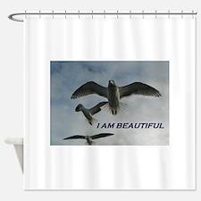 I Am Beautiful Shower Curtain