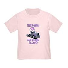 Little Girls Love Their Trucker Daddys Todd