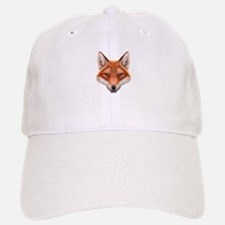 Red Fox Face Baseball Baseball Cap
