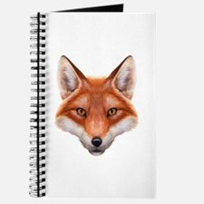 Red Fox Face Journal