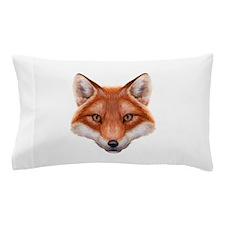 Red Fox Face Pillow Case