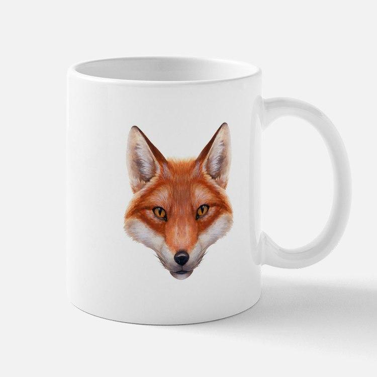 Red Fox Face Mug