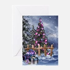 Christmas Landscape Greeting Card