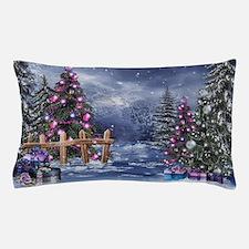 Christmas Landscape Pillow Case