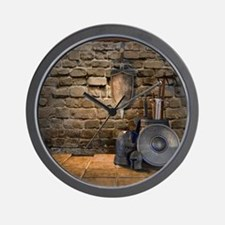 Medieval Weaponry Wall Clock