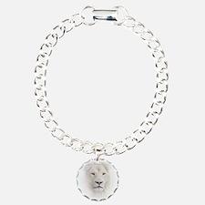 White Lion Head Bracelet