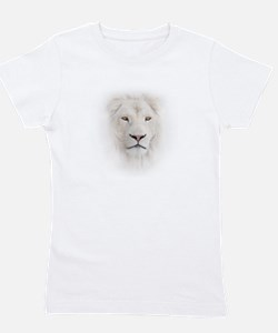 White Lion Head Girl's Tee