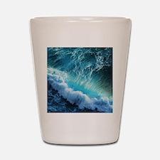 STORM WAVES Shot Glass