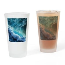 STORM WAVES Drinking Glass