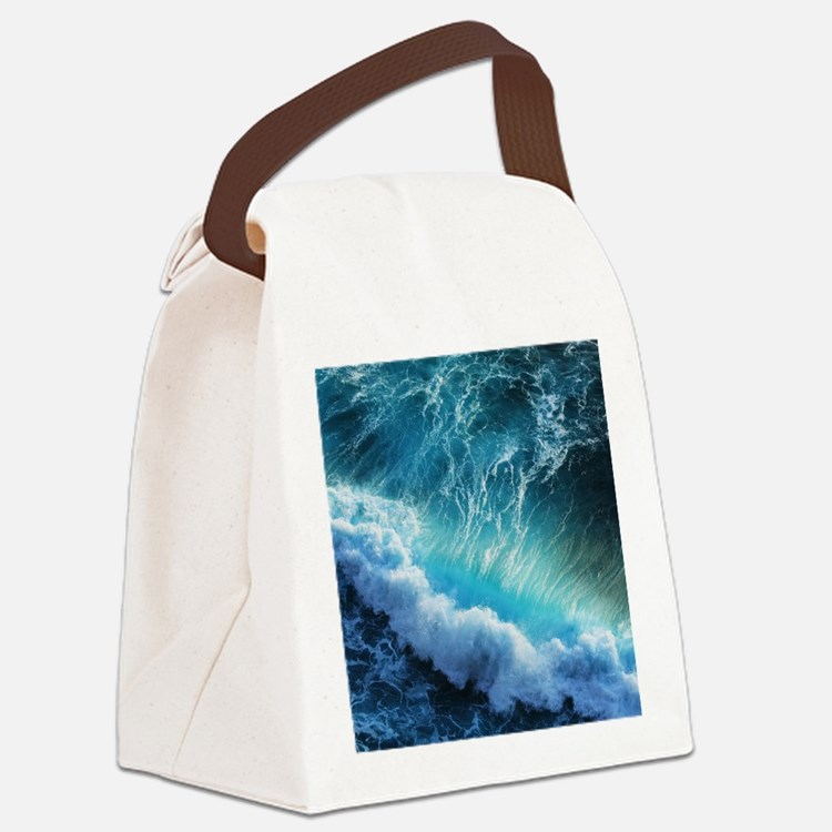 STORM WAVES Canvas Lunch Bag