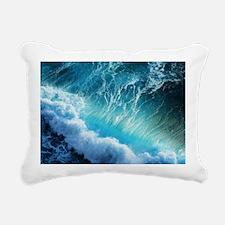 STORM WAVES Rectangular Canvas Pillow