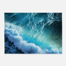 STORM WAVES 5'x7'Area Rug
