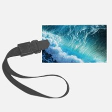 STORM WAVES Luggage Tag