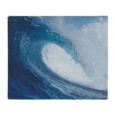 OCEAN WAVE 2 Throw Blanket