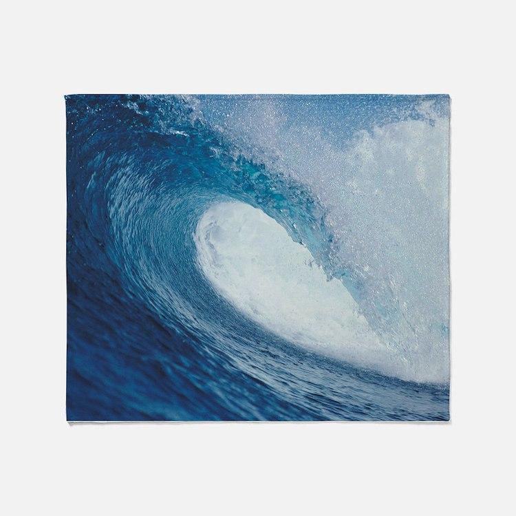 OCEAN WAVE 2 Throw Blanket