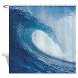 Ocean wave Shower Curtains