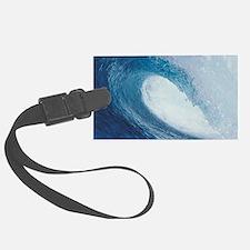 OCEAN WAVE 2 Large Luggage Tag