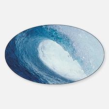OCEAN WAVE 2 Sticker (Oval)